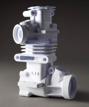 Printed engine prototype by Mccor Technologies
