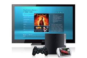 sony ps3 tv