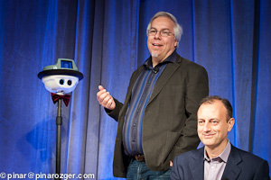 Anybots' Trevor Blackwell and Elance's Fabio Rosati at GigaOM Net:Work 2011