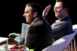 Sanjay Mathur of LiveOps and Maksim Ovsyannikov of Rypple at GigaOM Net:Work 2011