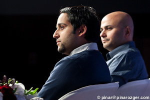 Murtaza Hussain of HIGEAR and Tabrez Syed of Spiceworks at GigaOM's Net:Work 2011