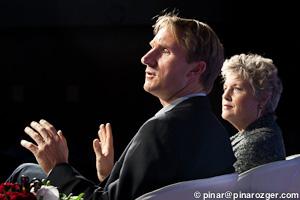 Bernd Christiansen, CTO Citrix Online Services Division, and Claudia Kotchka, Innovation Advisor, Consultant