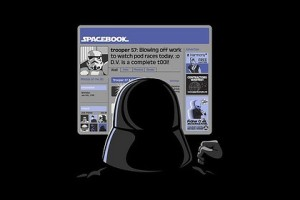 Darth vader spacebook
