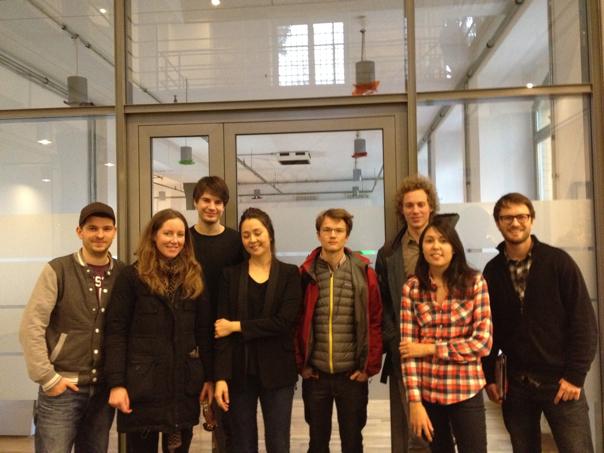 A few members of Berlin Geek Squad