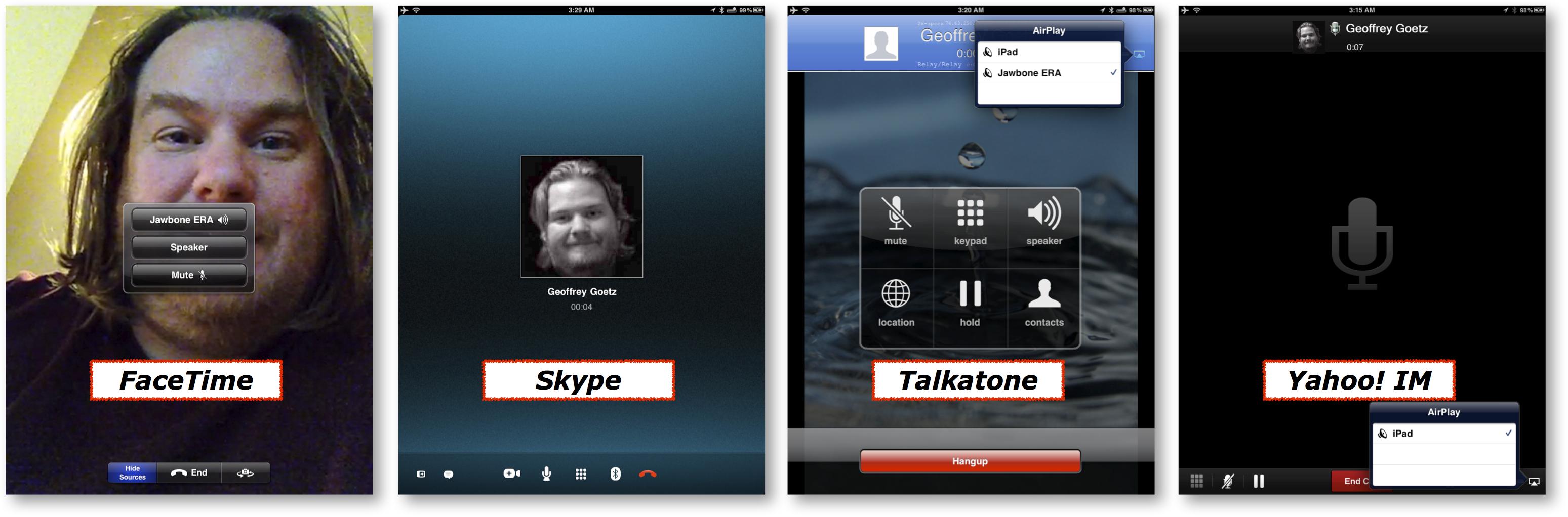 Bluetooth Talking Apps