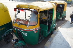 CNG 3-wheelers in Delhi