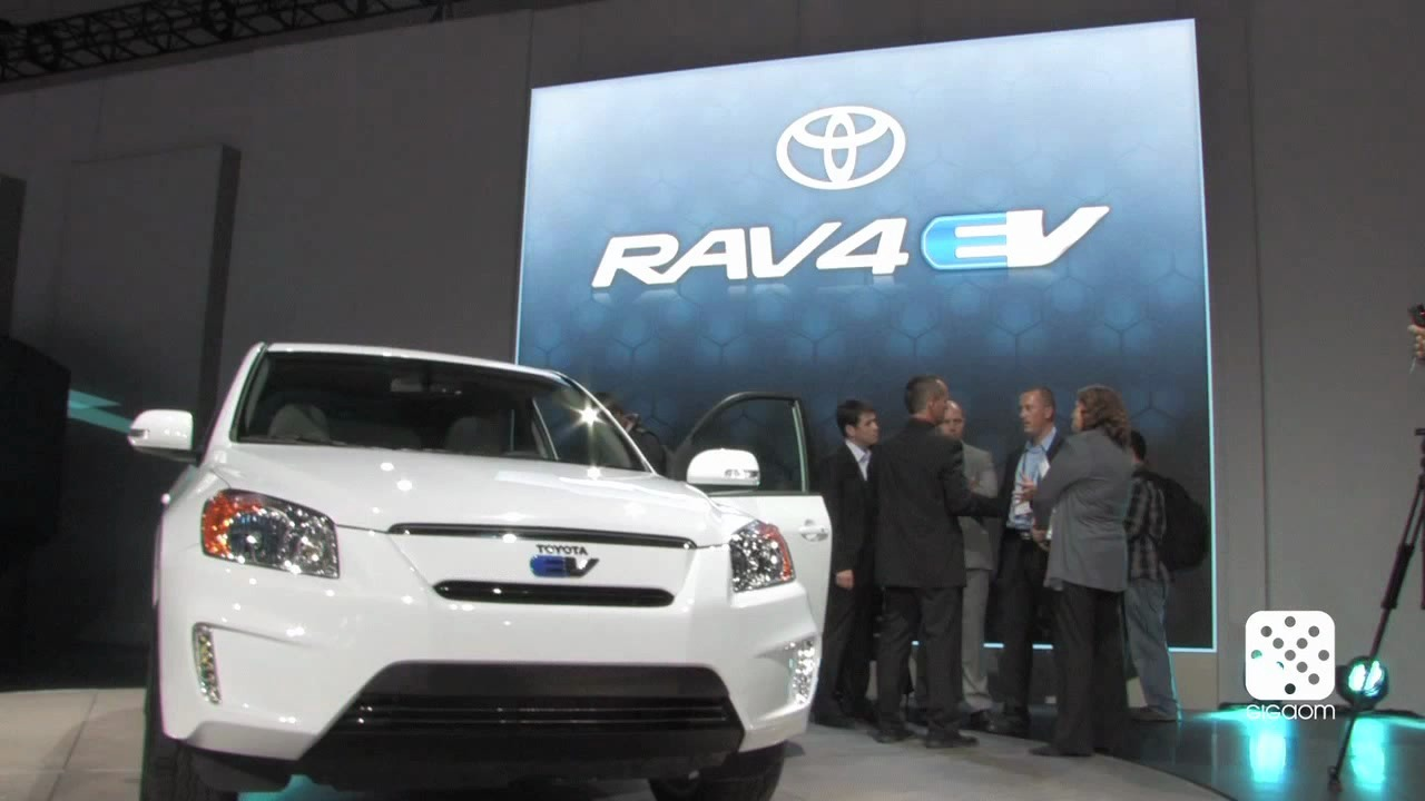 Toyota's electric RAV-4 has Tesla tech inside.