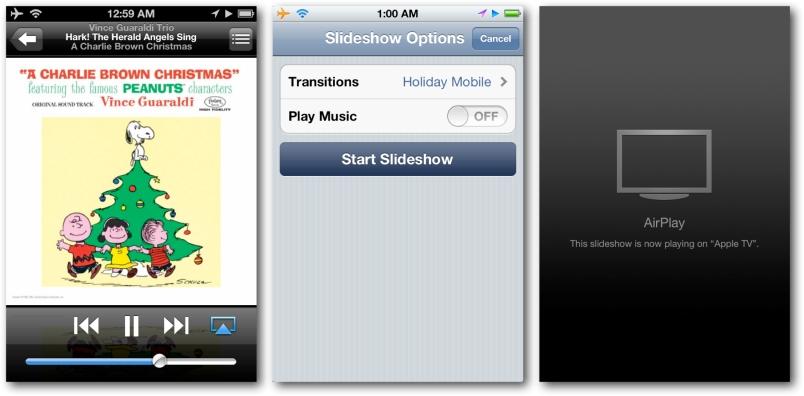 iOS Device Slideshow