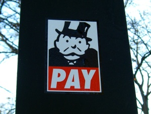 Monopoly man pay