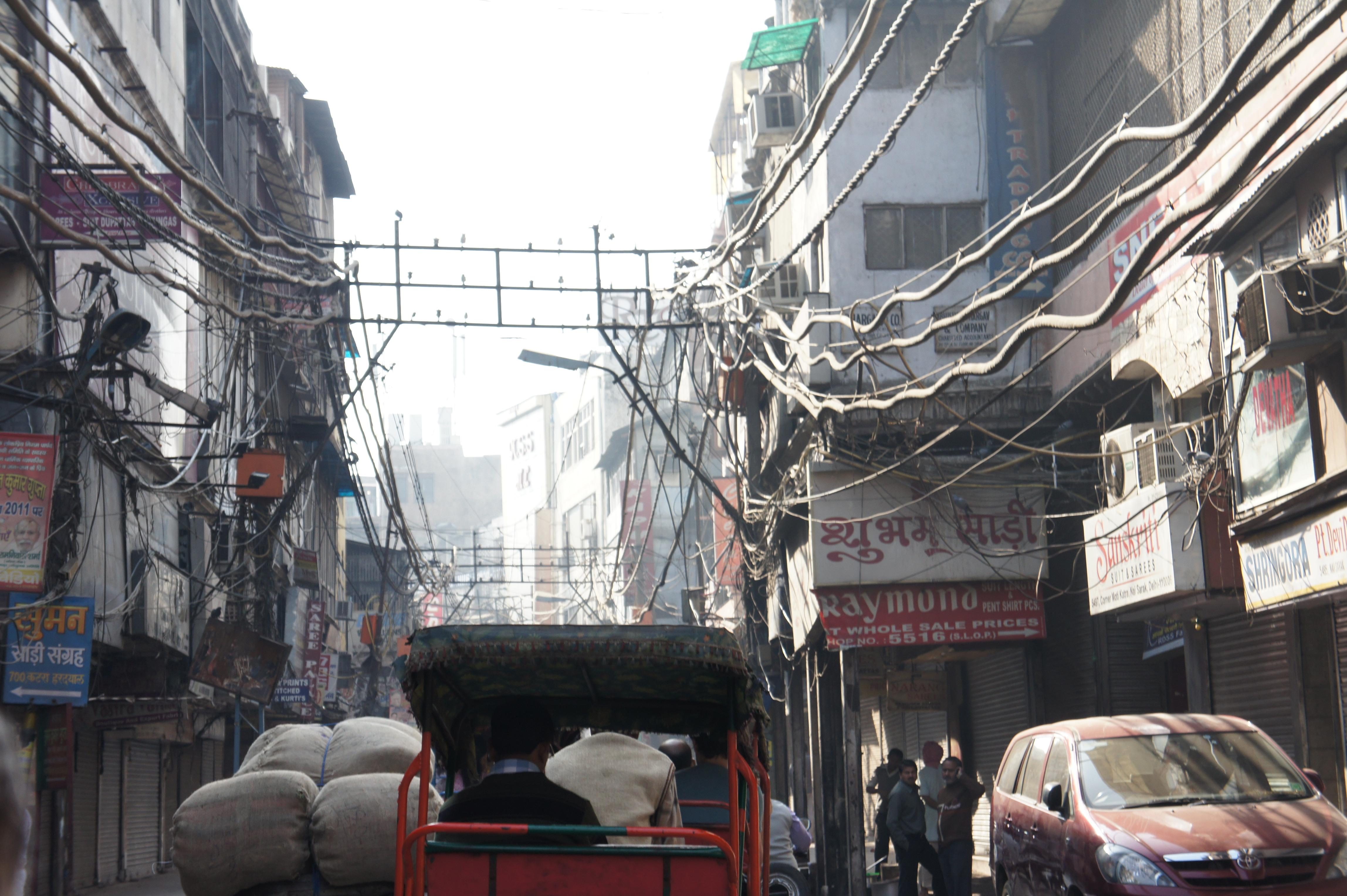 Power grid Old Delhi