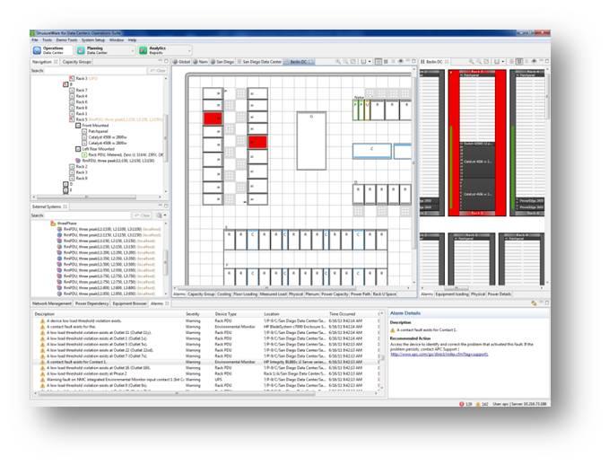 StruxureWare for Data Centers - Screenshot 1