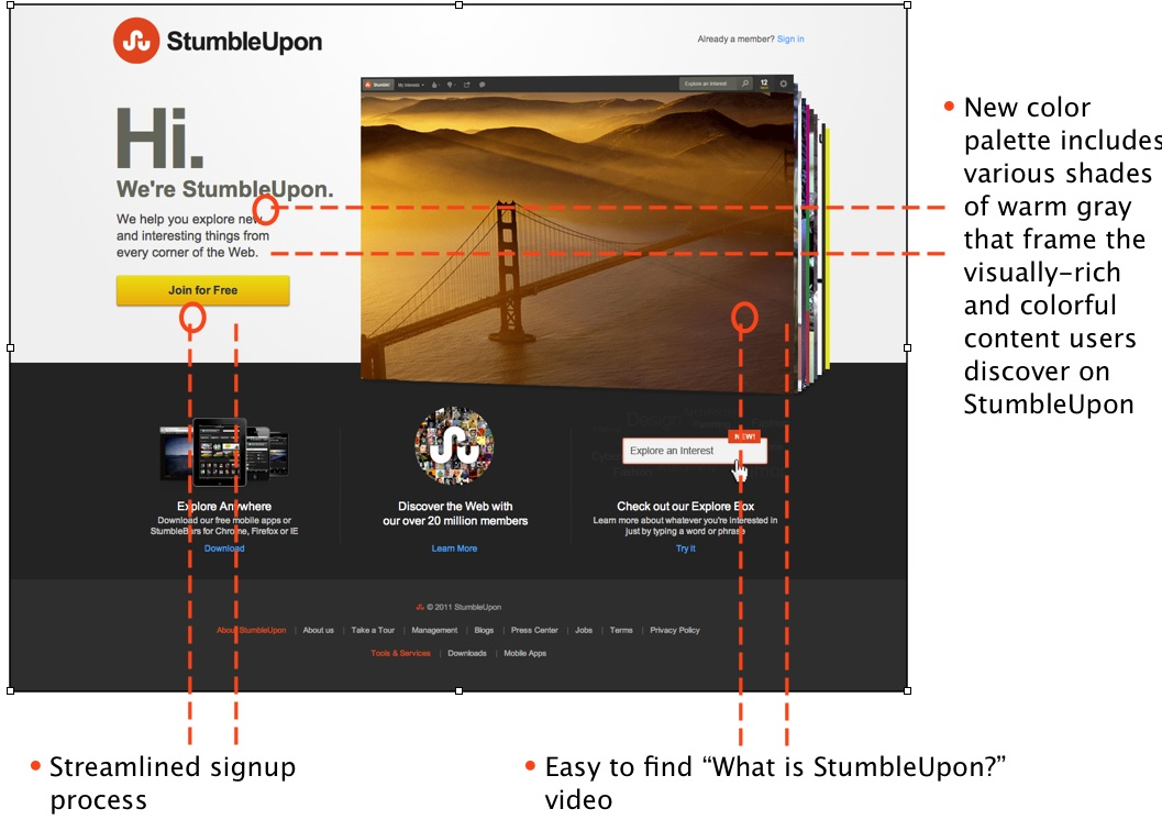 StumbleUpon is Still There and Launched New Design