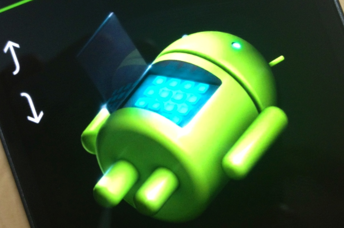 Android undergoing repair
