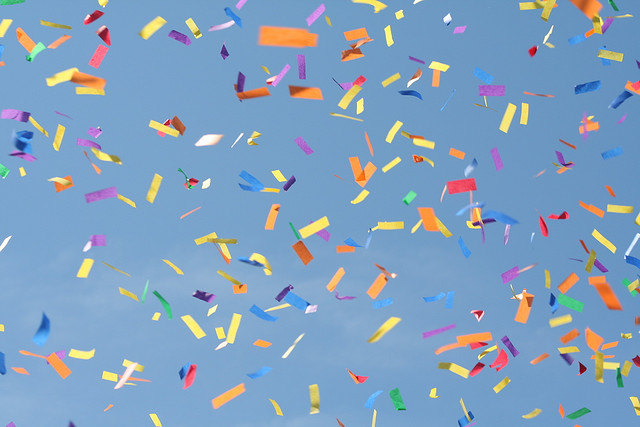 confetti party