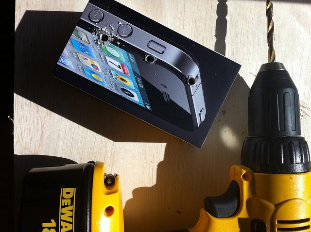 iPhone drill