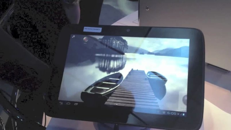 CES: Intel powered Android tablet with 10 hour runtime Thumbnail