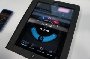 Honeywell & Opower's iPad smart thermostat app