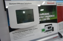 Honeywell's thermostat with Opower software