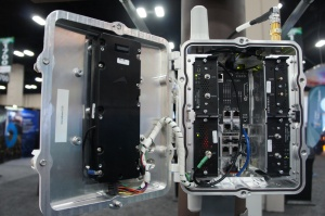 Cisco's connected grid router, ruggedized, inside