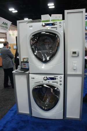 GE's connected washing machine