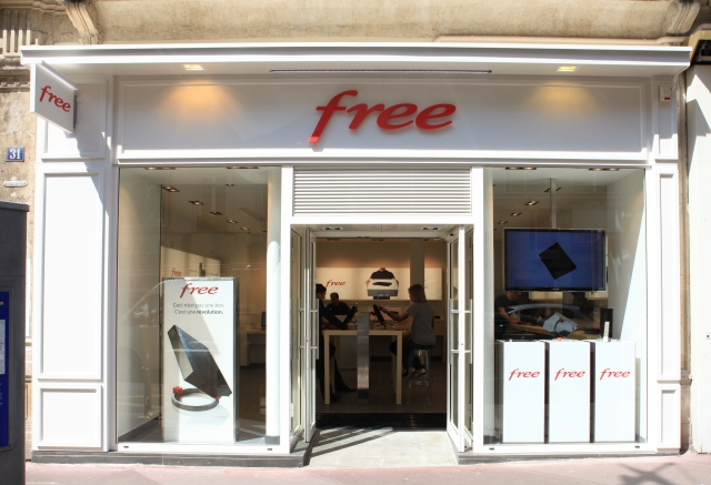 Free.fr Free Mobile store