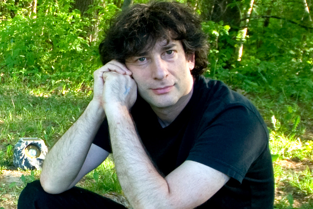 Author Neil Gaiman is active on Twitter.