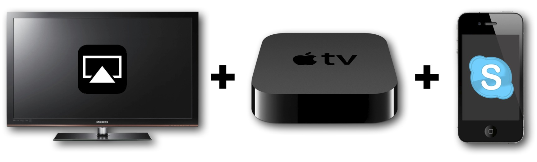 HDTV AppleTV iPhone4S