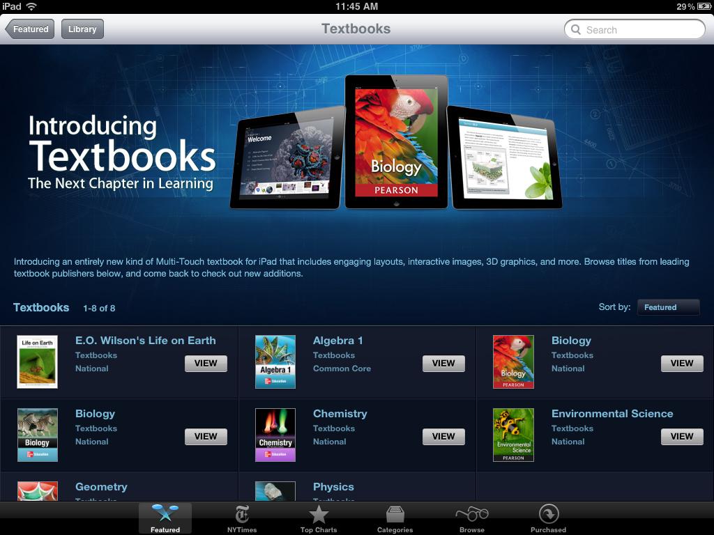 iPad-textbook store1