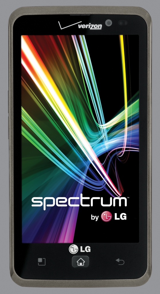 LG Spectrum movie phone