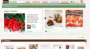 online cookbook storefront