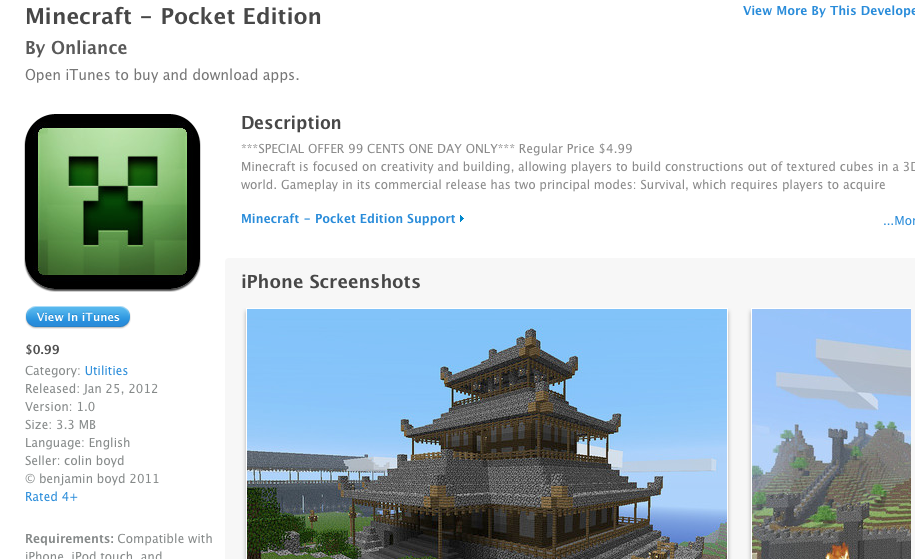 download minecraft pocket edition demo for pc