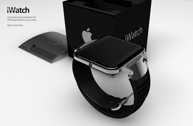 iWatch 2 with box