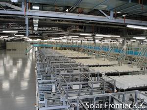 Solar Frontier factory