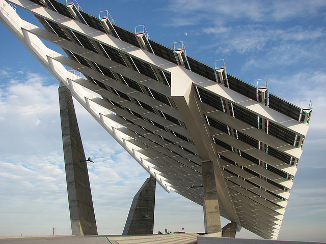 Spain solar barcelona