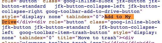 Código Google Drive