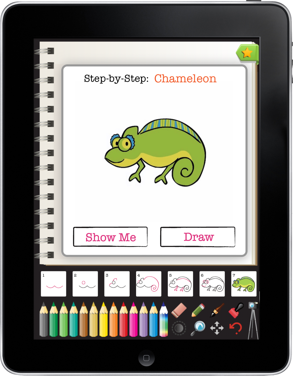 Butt Art Ipad App Teaches Children How To Draw Gigaom