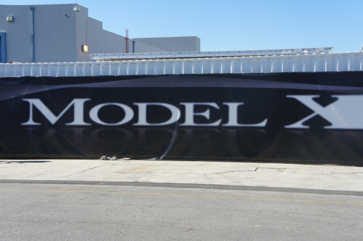 Premiere of the Model X in Hawthorne, Calif.