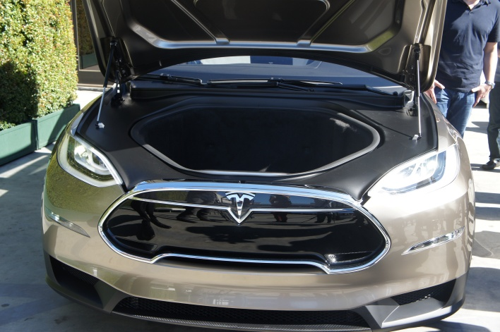 Front truck of the Model X