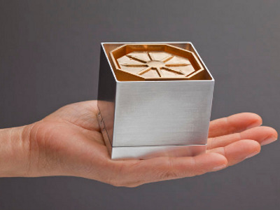The lightRadio Cube, Alcatel-Lucent's vision for the small cell.