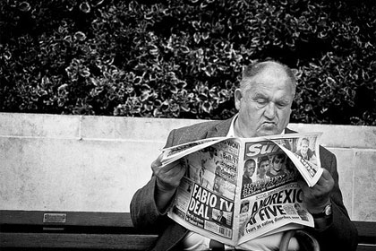 Newspapers under Creative Commons courtesy of Flickr user pj_vanf
