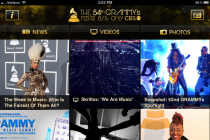 grammy awards app screenshot