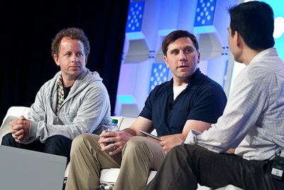 Kaggle's Jeremy Howard (left) at Structure: Data 2012 (c) 2012 Pinar Ozger. pinar@pinarozger.com