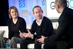 Ashlie Beringer of Gibson, Dun and Crutcher LLP and Derrick Harris of GigaOM at Structure:Data 2012
