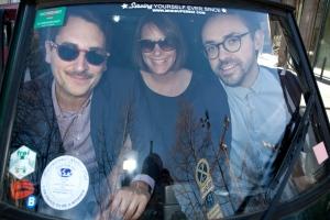 Amen founders Felix Petersen, Caitlin Winner and Florian Weber