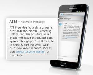 AT&T 3GB Data Throttling Plan