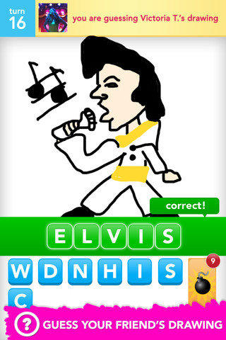 Draw Something - Elvis