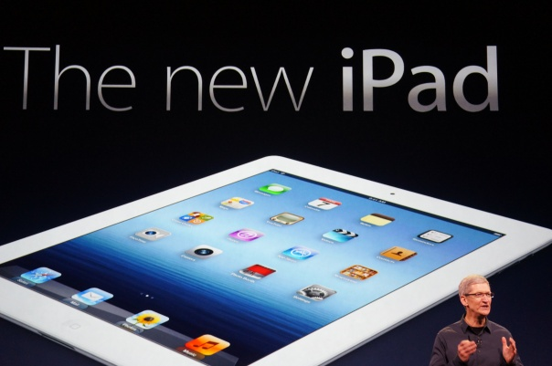 March 2012 iPad launch event