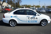 Coda electric sedan