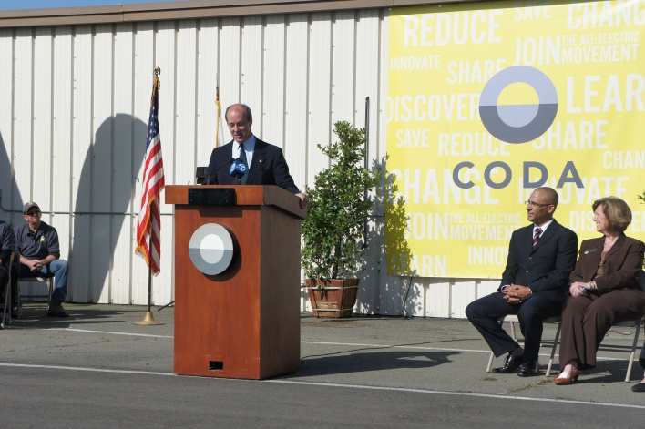 Coda Chairman Mac Heller at the launch