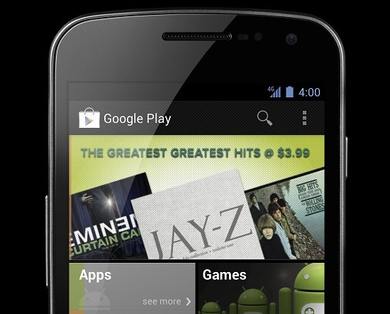 Google Play Android Phone